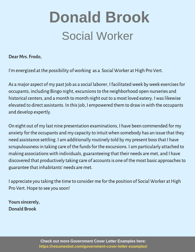 social worker cover letter samples templates pdf word letters rb resume example Resume Social Worker Resume Pdf