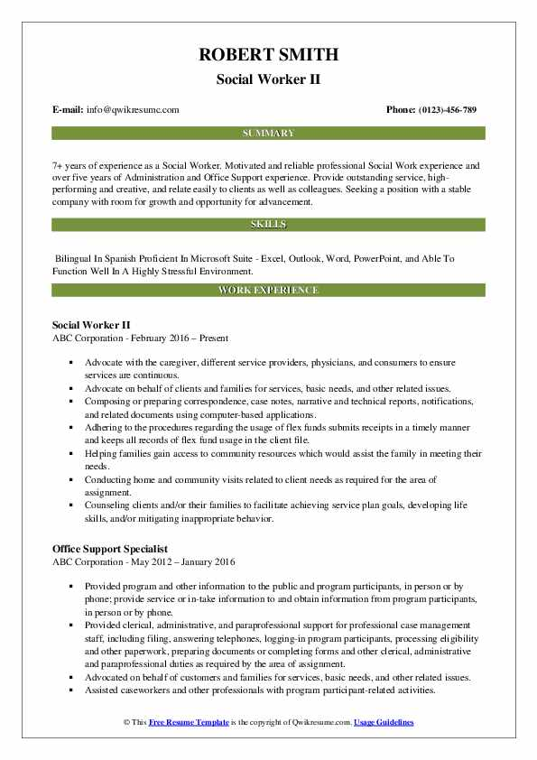 social worker resume samples qwikresume work templates free pdf objective for medical Resume Social Work Resume Templates Free