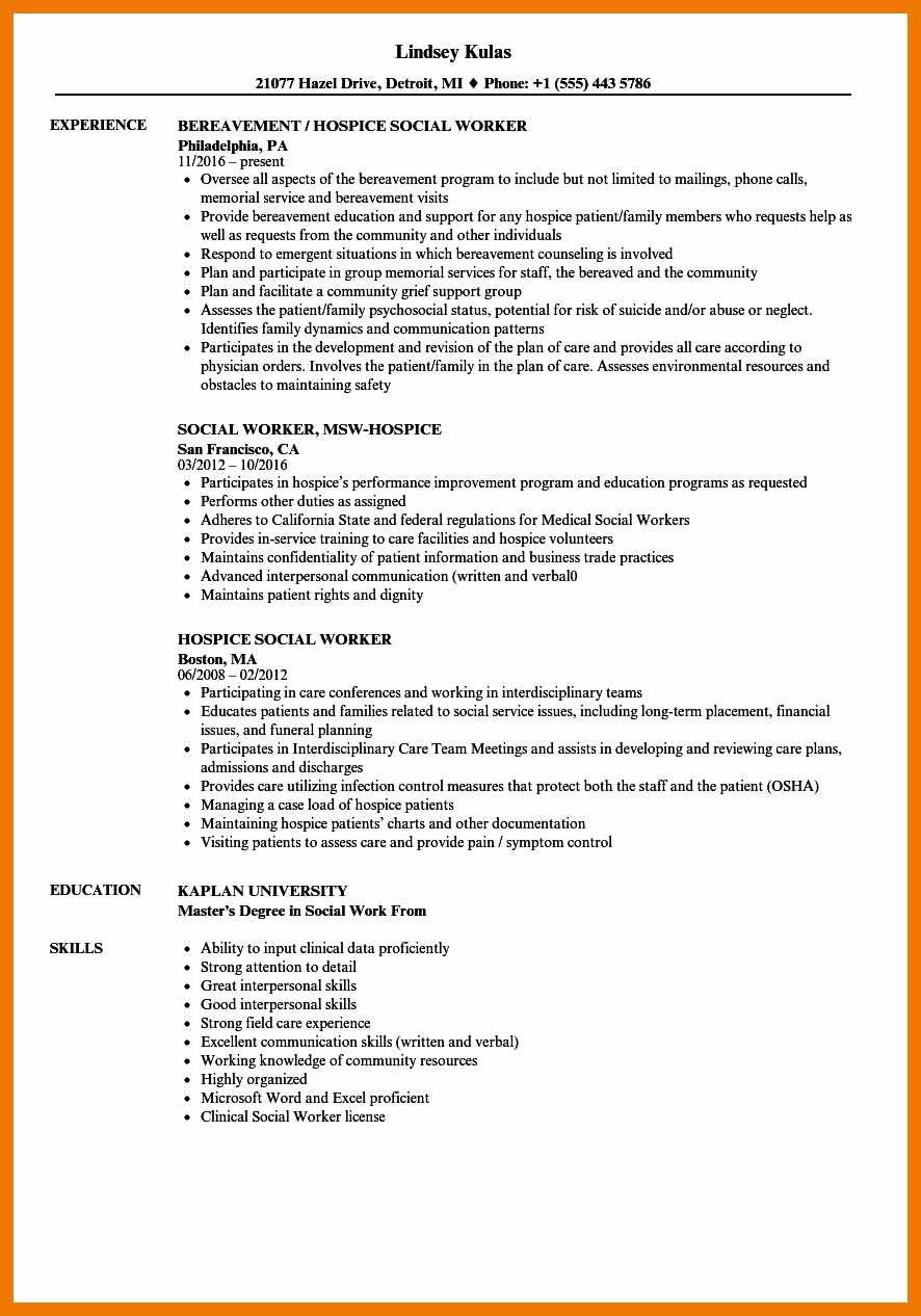 social workers resume samples unique masters of work medical job examples no experience Resume Master Of Social Work Resume Examples