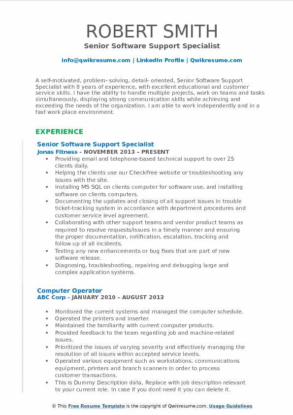software support specialist resume samples qwikresume it supports pdf reference setup for Resume It Supports Specialist Resume