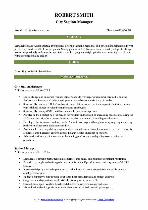 station manager resume samples qwikresume gas assistant pdf cosmetologist objective Resume Gas Station Assistant Manager Resume
