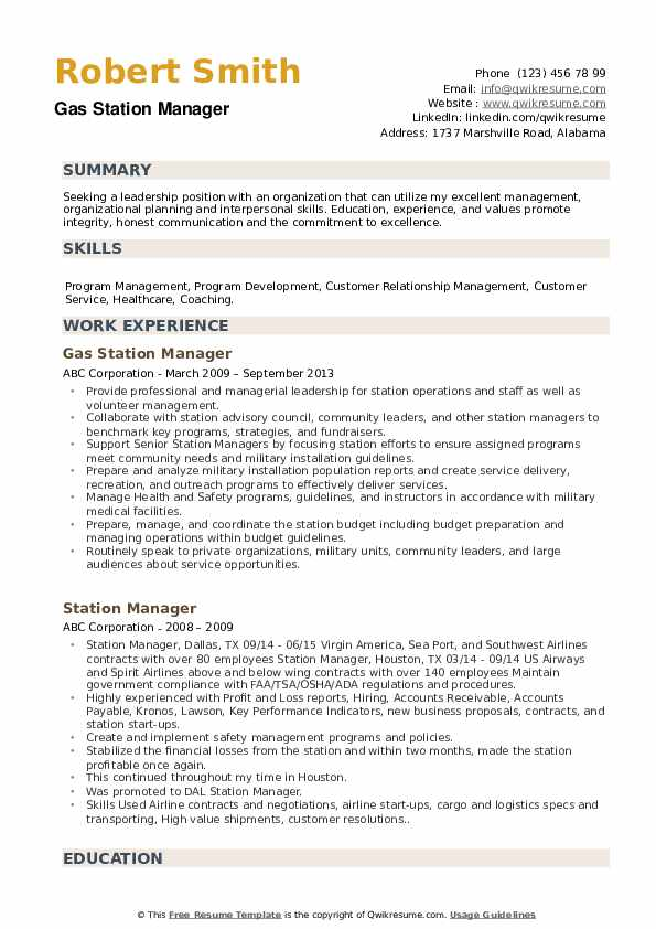 station manager resume samples qwikresume gas assistant pdf law clerk template Resume Gas Station Assistant Manager Resume