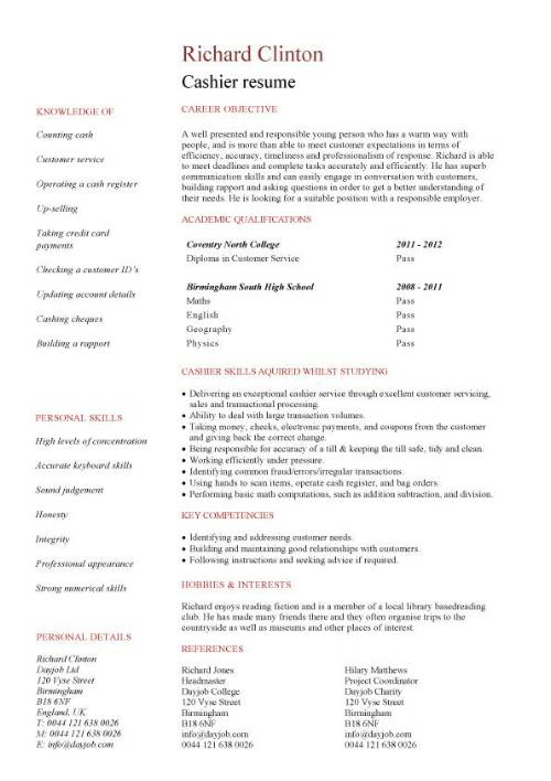 student entry level cashier resume template better word for pic manager examples Resume Better Word For Cashier For Resume