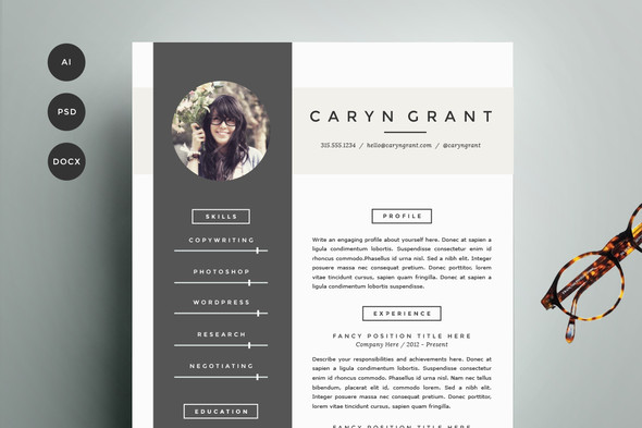 stunning creative resume templates pretty pack cv template research paper military job Resume Pretty Resume Templates