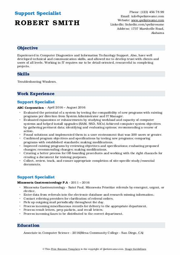 support specialist resume samples qwikresume community pdf ntu template for grad student Resume Community Support Specialist Resume