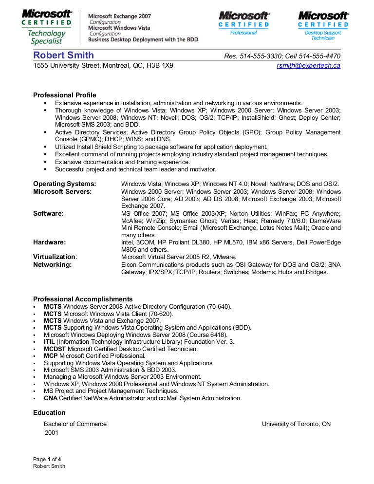 systems administrator resume system systemsadministratorresume lva1 app6892 thumbnail Resume System Administrator Resume