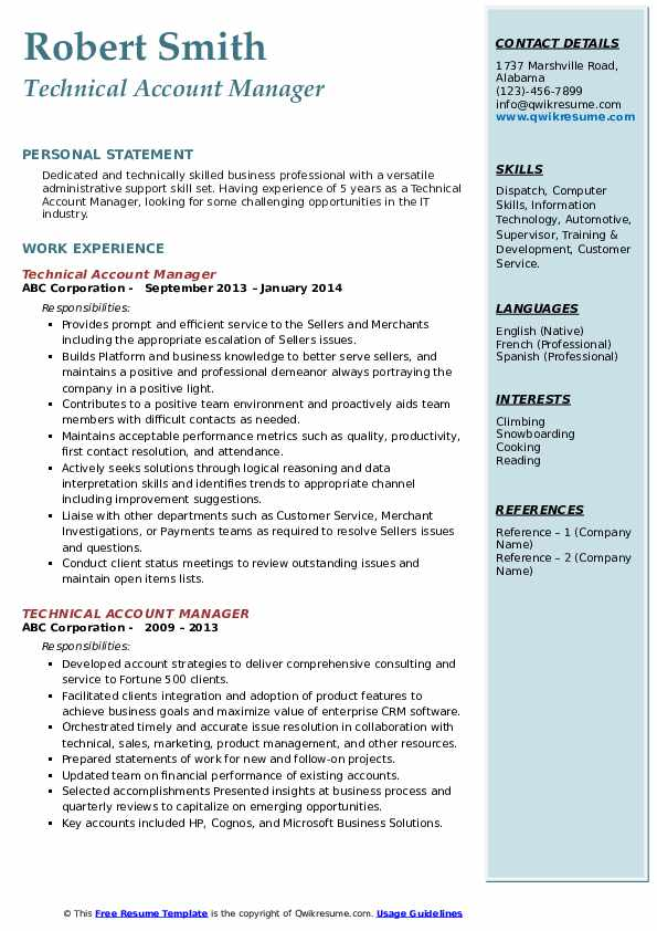 technical account manager resume samples qwikresume sample pdf accent microsoft azure Resume Technical Account Manager Resume Sample