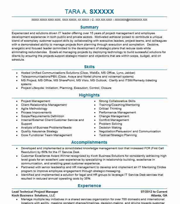 technical project manager resume example hallmark cards mission people soft clinical Resume People Soft Project Manager Resume