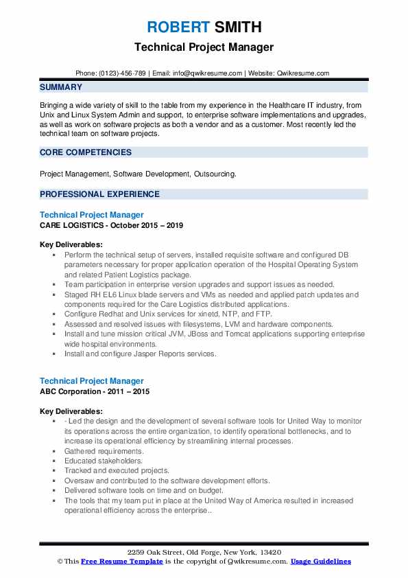 technical project manager resume samples qwikresume people soft pdf science trade Resume People Soft Project Manager Resume