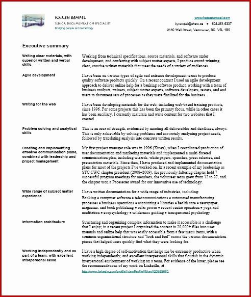 technical writer resume sample new examples summary free template aml business analyst Resume Technical Writer Resume Template