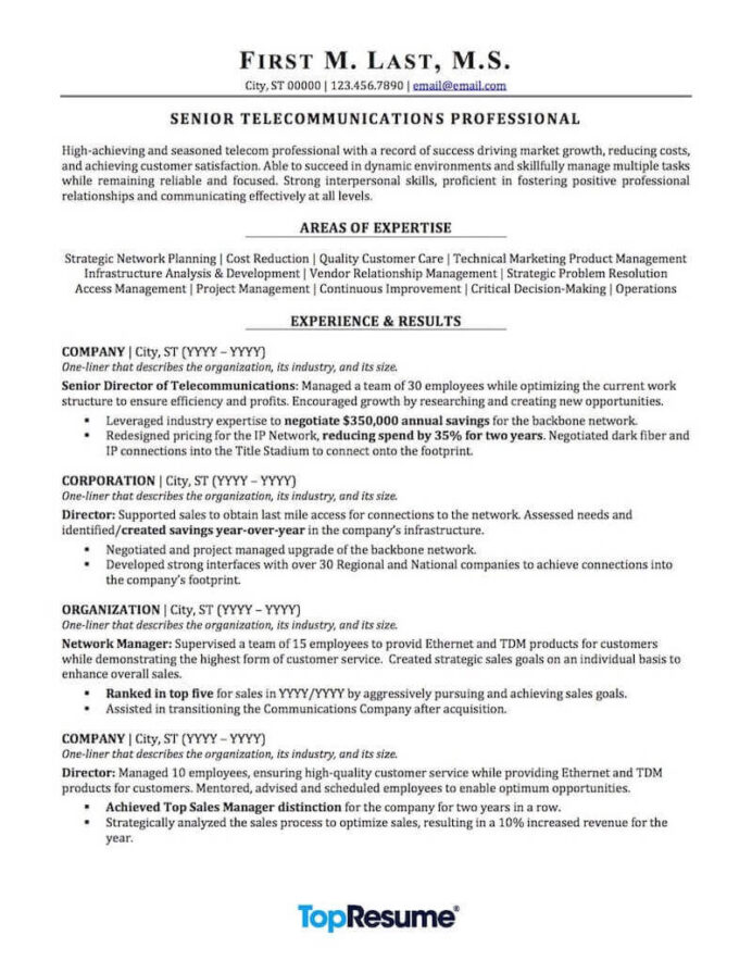 telecommunications resume sample professional examples topresume technician objective Resume Telecommunications Technician Resume Objective