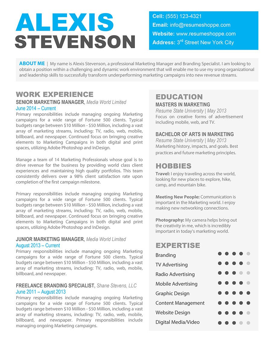 the alexis creative resume shoppe template word downloadable free best quality checker Resume Best Pages Resume Template