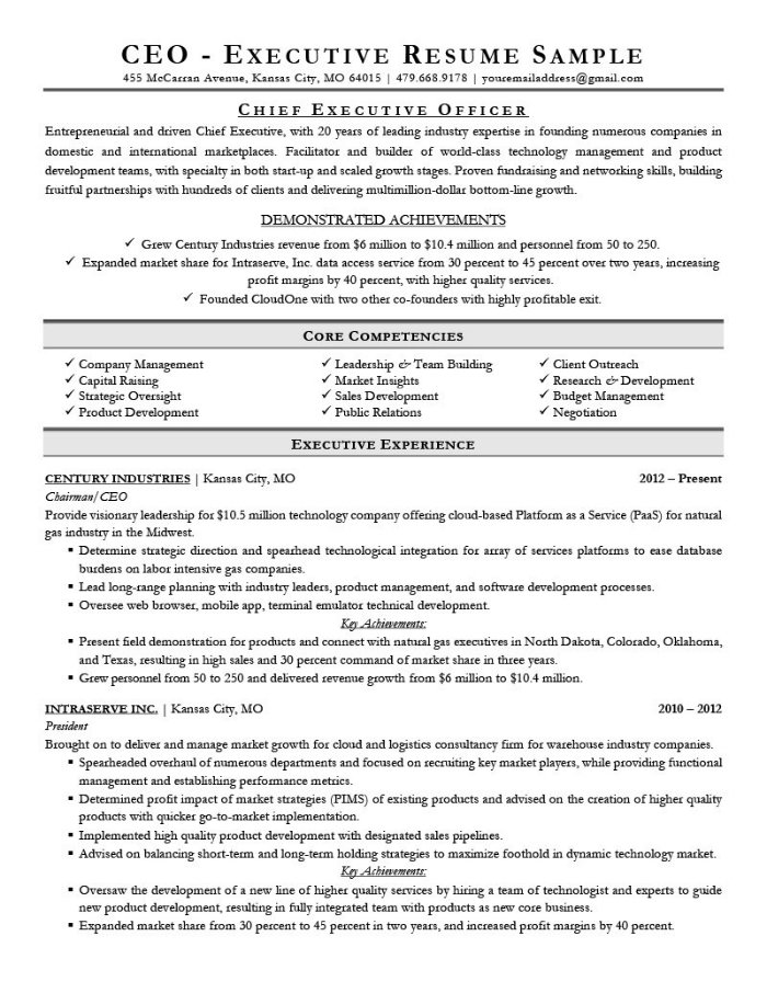 the best cv and résumé examples for your inspiration job resume executive example Resume Best Job Resume Examples