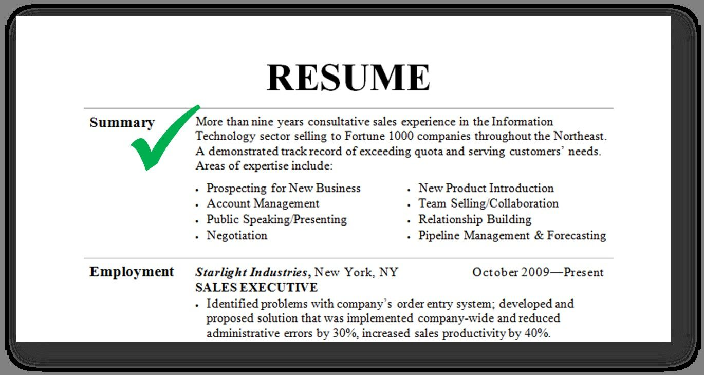 the best ideas for good resume summary examples template introduction mcafee endpoint Resume Summary Introduction For Resume