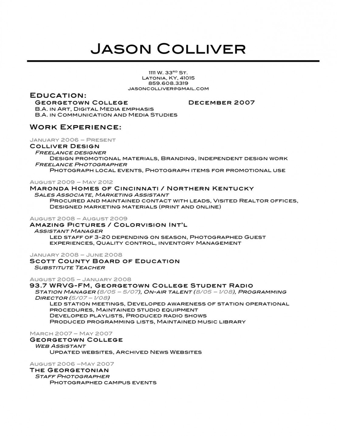 the best resume template ever builder example lovely fetching free and writing software Resume Georgetown Resume Template