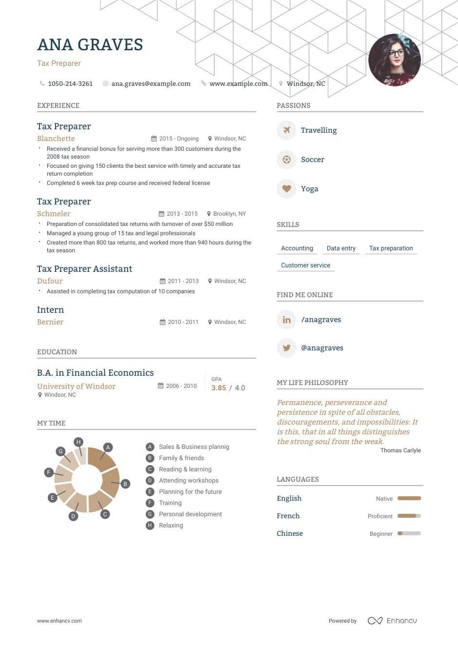 the best tax preparer resume examples skills to get you hired new grad now post thank Resume Tax Preparer Skills Resume