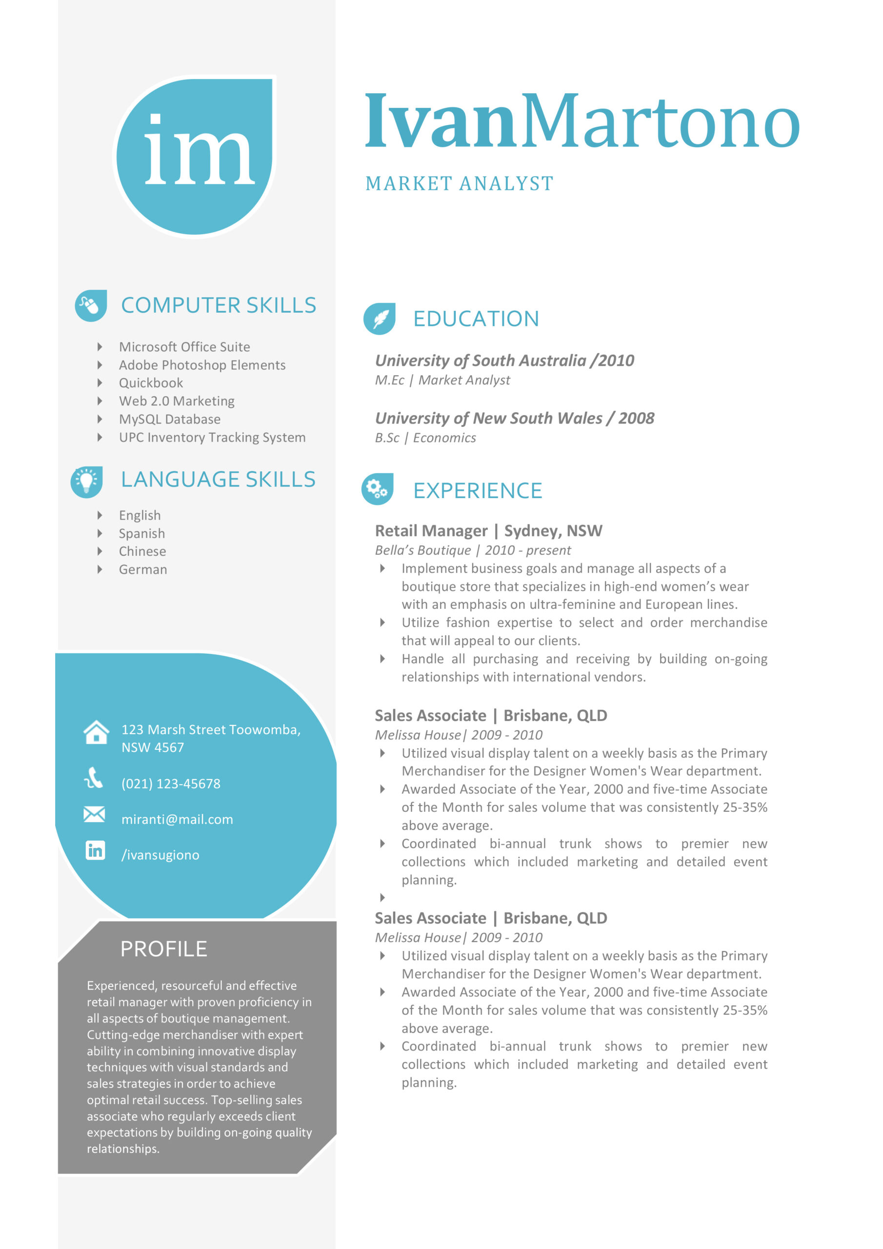 the ivan resume creative template cutting edge templates martono cover letter samples for Resume Cutting Edge Resume Templates