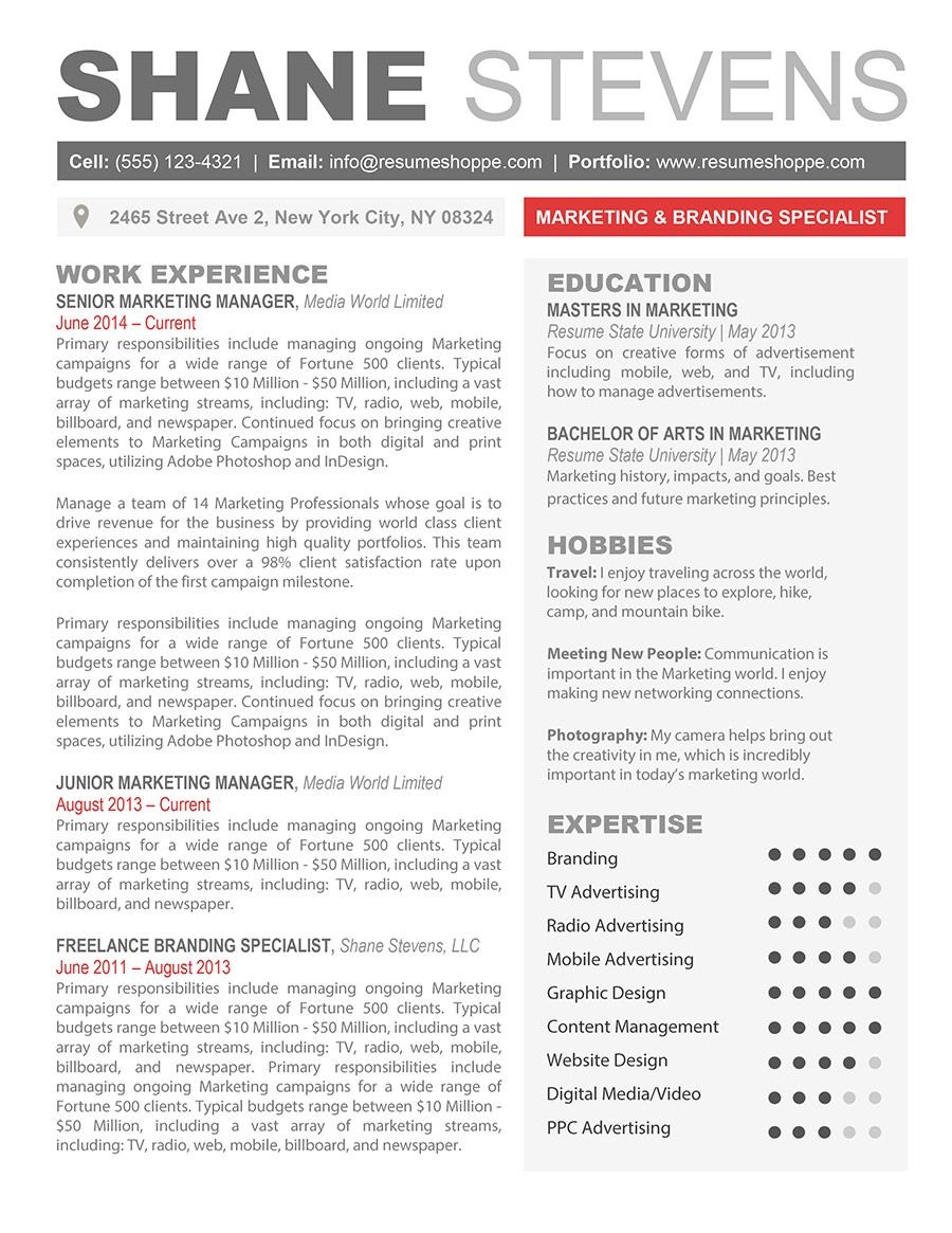 the shane resume creative template for word templates examples free pharmaceutical Resume Mobile Resume Templates Free