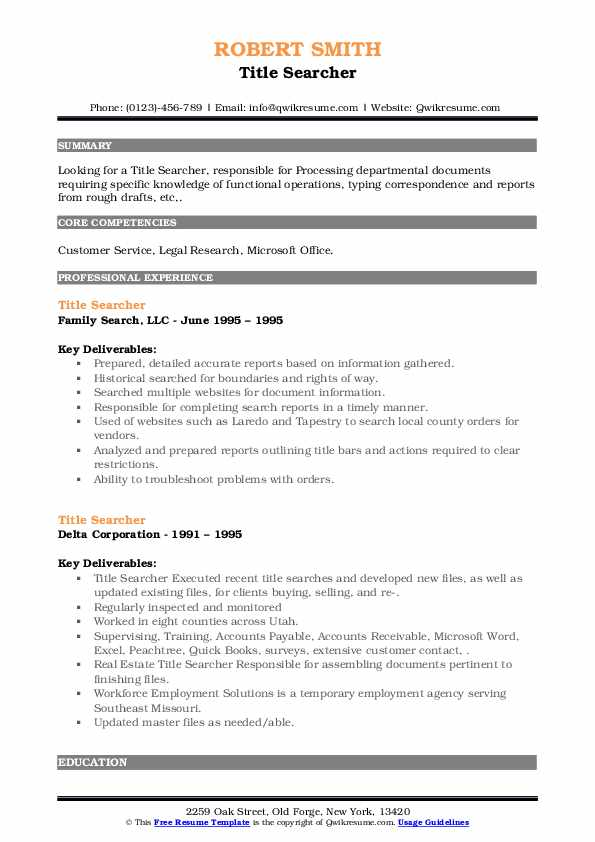 title searcher resume samples qwikresume search experience pdf expected graduation on Resume Title Search Experience Resume