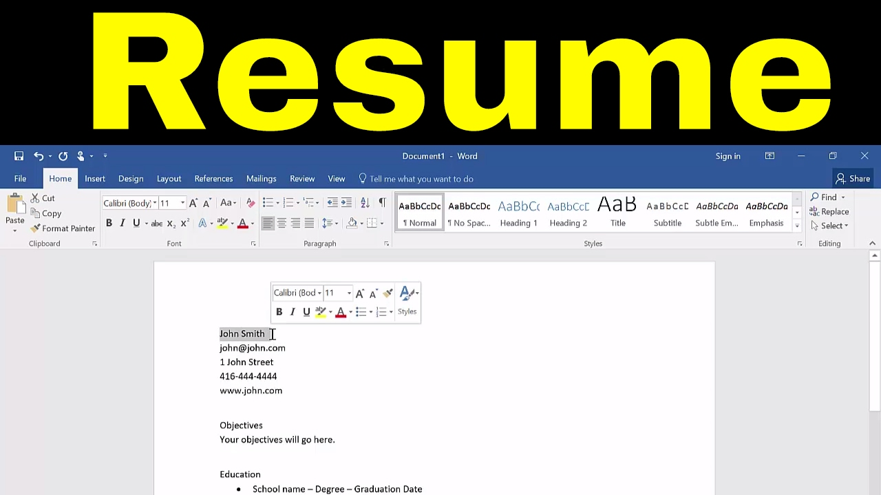 to create resume in microsoft word tutorial on buzz verbs entry level nurse sample your Resume Create Resume On Microsoft Word