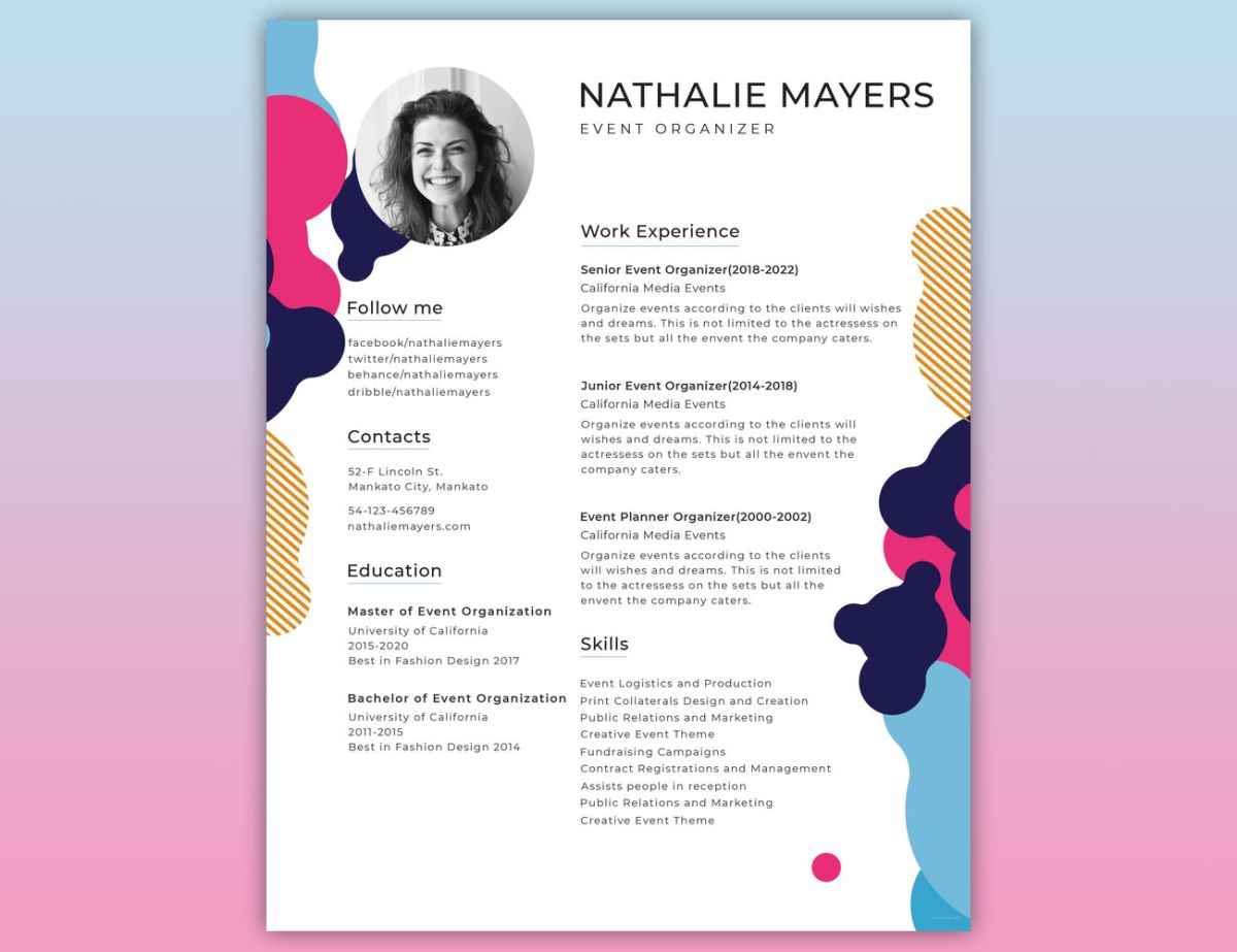 to create the perfect design resumé creative bloq professional graphic resume Resume Professional Graphic Design Resume