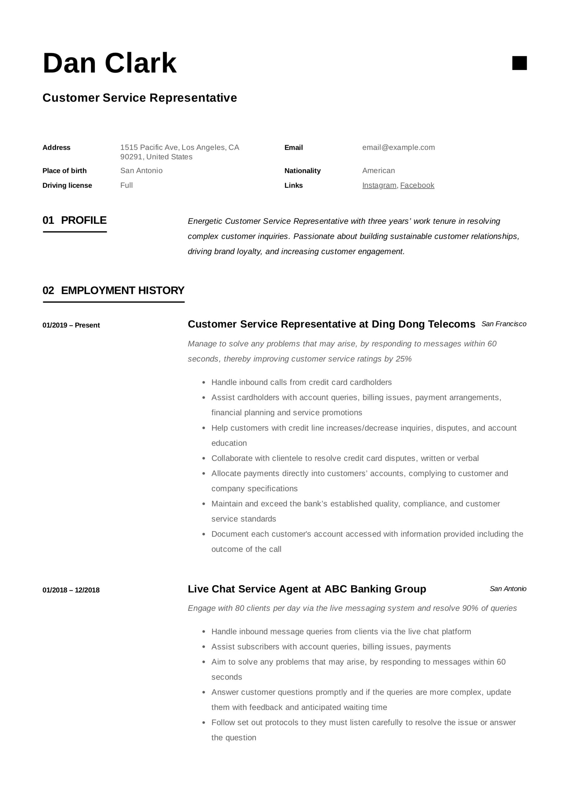 to customer service representative resume pdf samples for position medical claims job Resume Resume For Customer Service Position