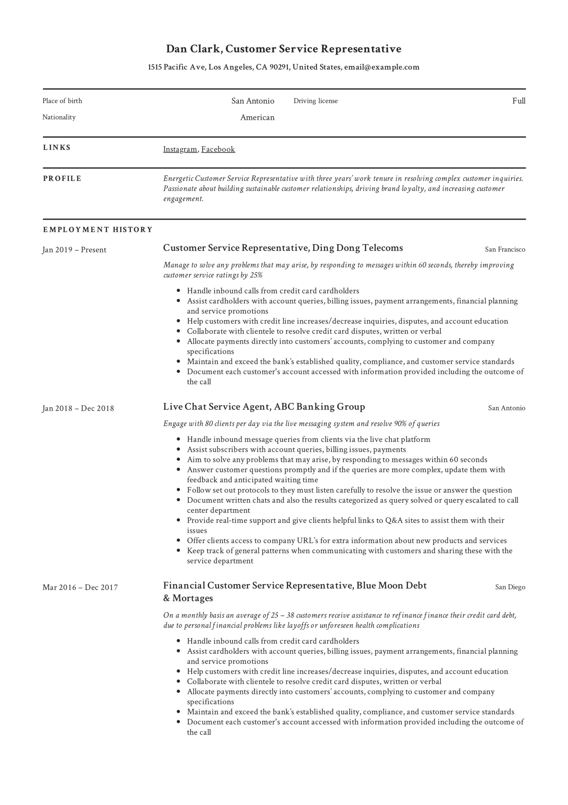 to customer service representative resume pdf samples for position physician assistant Resume Resume For Customer Service Position