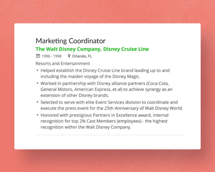 to decide on using reverse chronological resume definition eric disney markdown graphic Resume Chronological Resume Definition