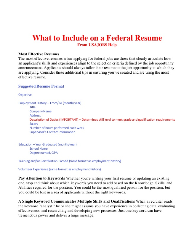 to include on federal resume bop with one job history reason for leaving dates opening Resume Resume With One Job History