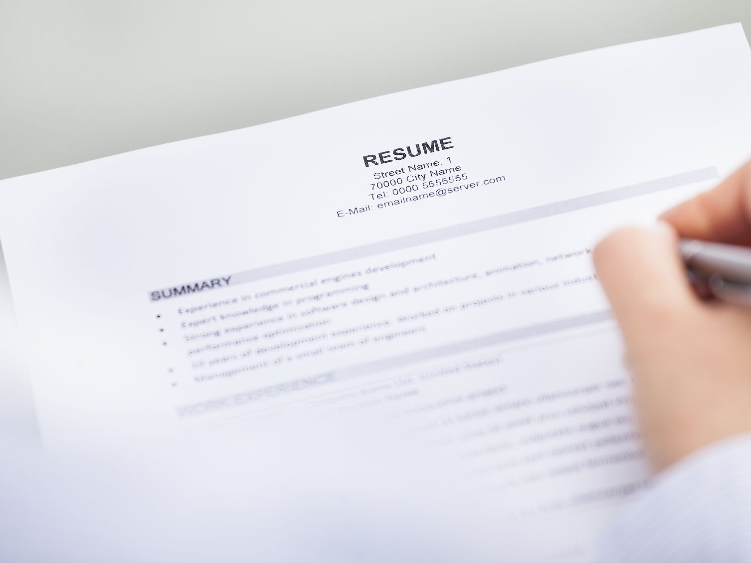 to include your contact information on resume websites that help you write medium score Resume Websites That Help You Write A Resume