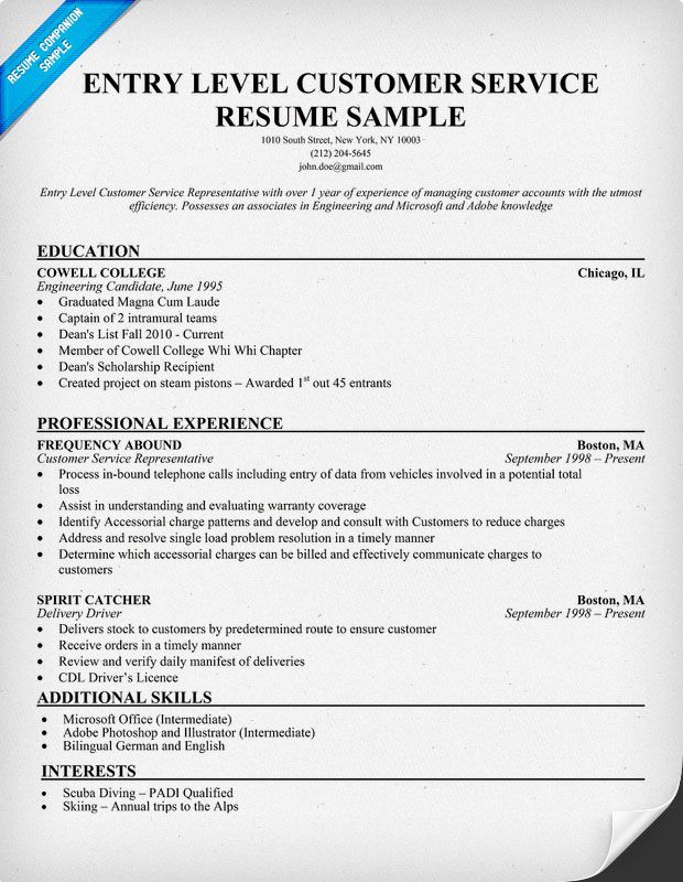 to write customer service resume or retail graphic design entry level format free and Resume Entry Level Resume Format