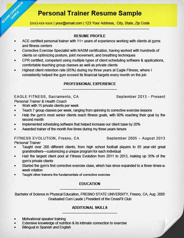 to write resume for all types of jobs companion writing professional contact info Resume Writing A Professional Resume