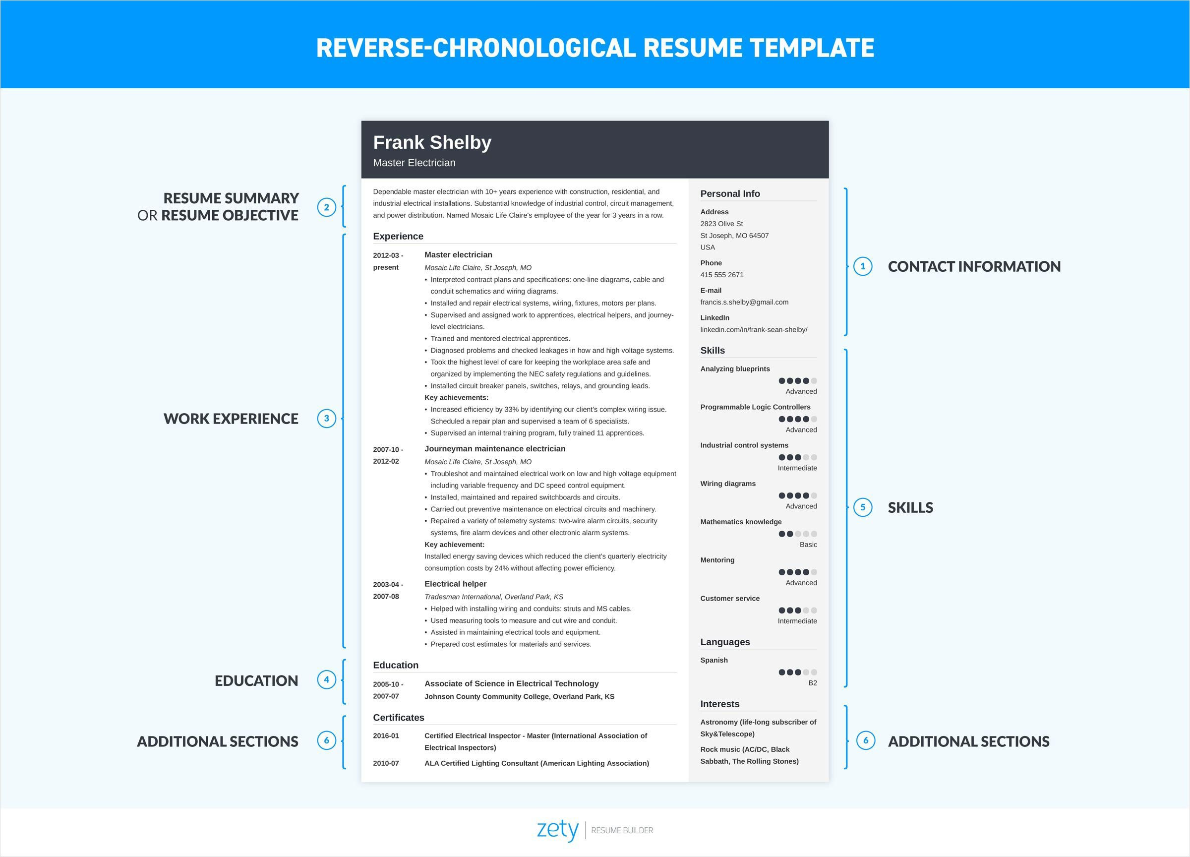 to write resume for job professional writing guide steps chronological template Resume Steps To Write A Resume