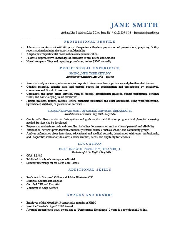 to write resume profile examples writing guide rg section of blue template current Resume Profile Section Of Resume