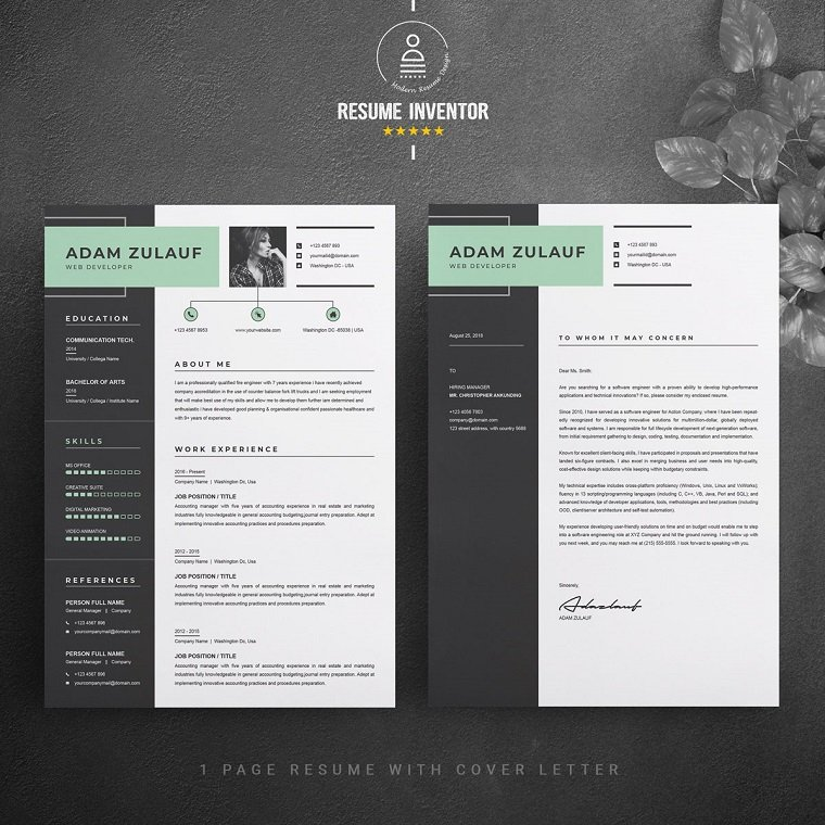 top free paid engineering resume templates best adam zulauf template work history can you Resume Best Resume Templates 2020