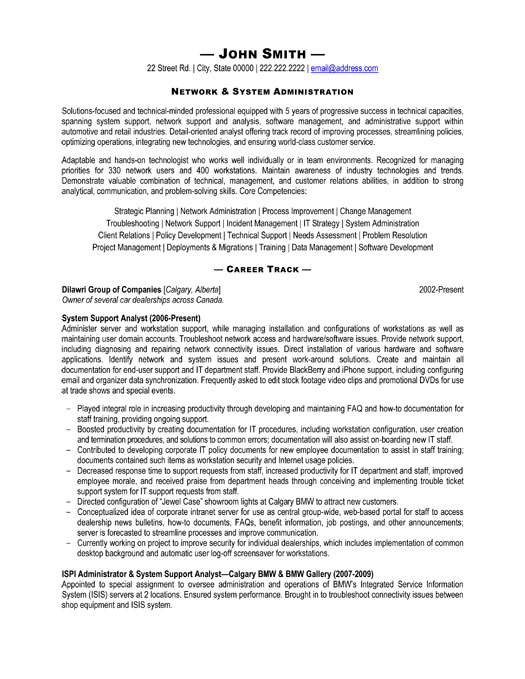 top help desk resume templates samples administrative analyst sample professional system Resume Administrative Analyst Resume Sample