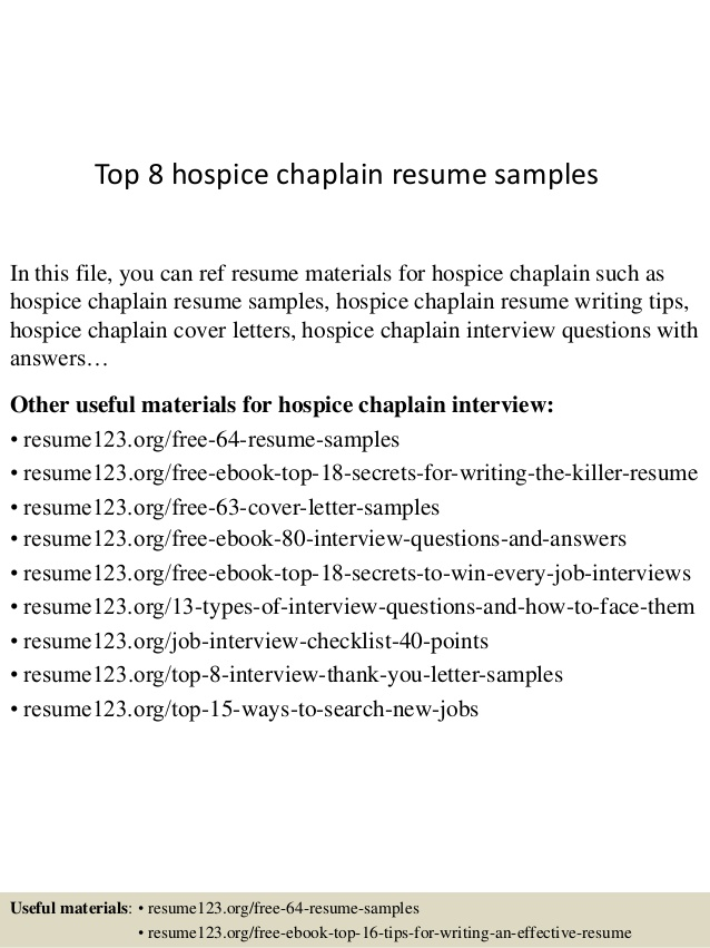 top hospice chaplain resume samples hospital sailing for college federal template media Resume Hospital Chaplain Resume