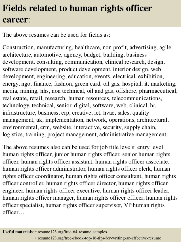 top human rights officer resume samples objective for civil engineering latest templates Resume Human Rights Resume Objective