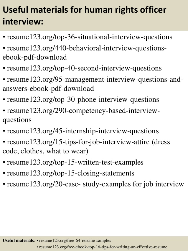 top human rights officer resume samples objective job interview dialogue example Resume Human Rights Resume Objective