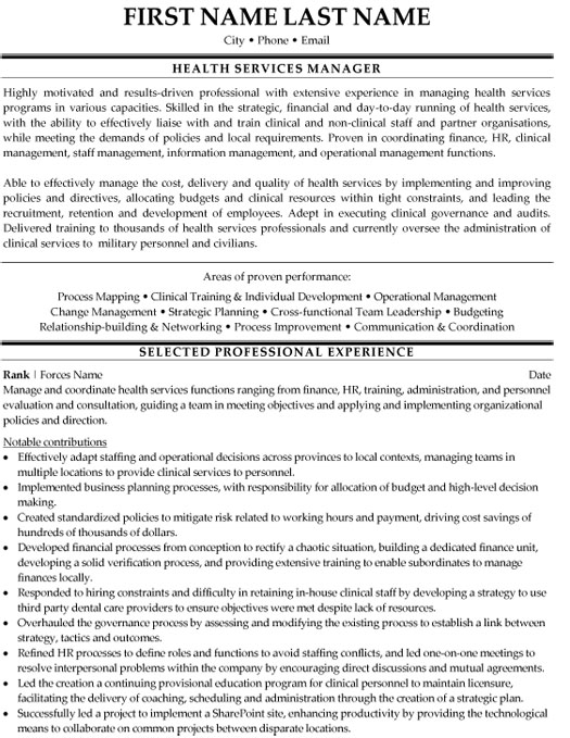 top military resume templates samples professional writers health services manager sample Resume Professional Military Resume Writers