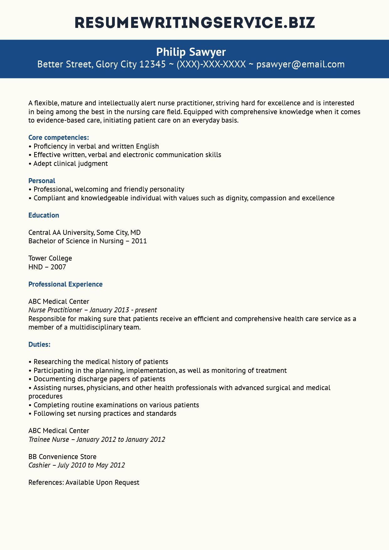 top nurse practitioner resume sample programs career advancement advice writing for Resume Resume Writing For Nurse Practitioners