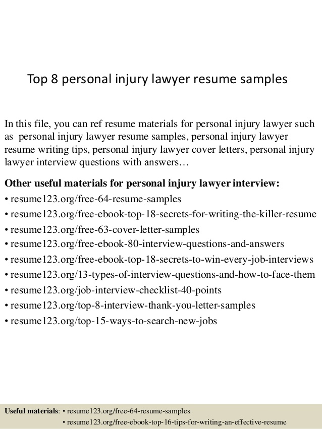 top personal injury lawyer resume samples attorney now cancel account accounting intern Resume Personal Injury Attorney Resume