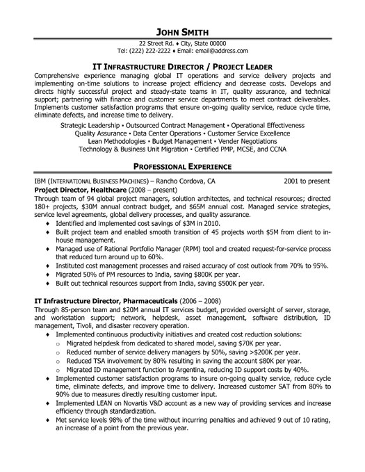 top project management resume templates samples best template for manager pm executive it Resume Best Resume Template For Project Manager