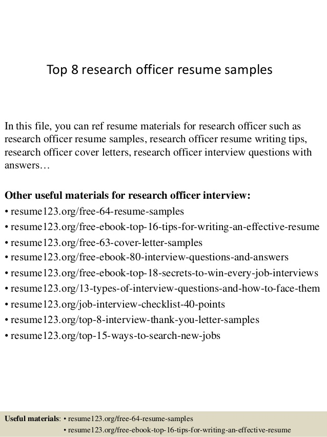 top research officer resume samples salesforce cpq title for sending walgreens beauty Resume Research Officer Resume
