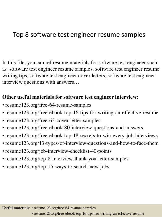 top software test engineer resume samples format for testing assistant project manager Resume Resume Format For Testing Engineer