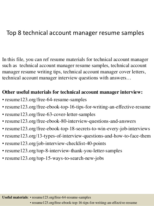 top technical account manager resume samples sample accent medical technologist fresh Resume Technical Account Manager Resume Sample