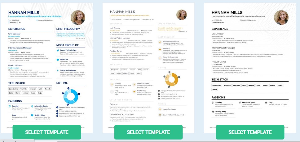top websites to review and create your cv for free innovation chasers resume builder Resume Top 10 Resume Builder