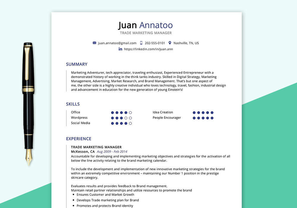 trade marketing manager resume sample maxresumes digital performa cover letter for fresh Resume Digital Marketing Manager Resume