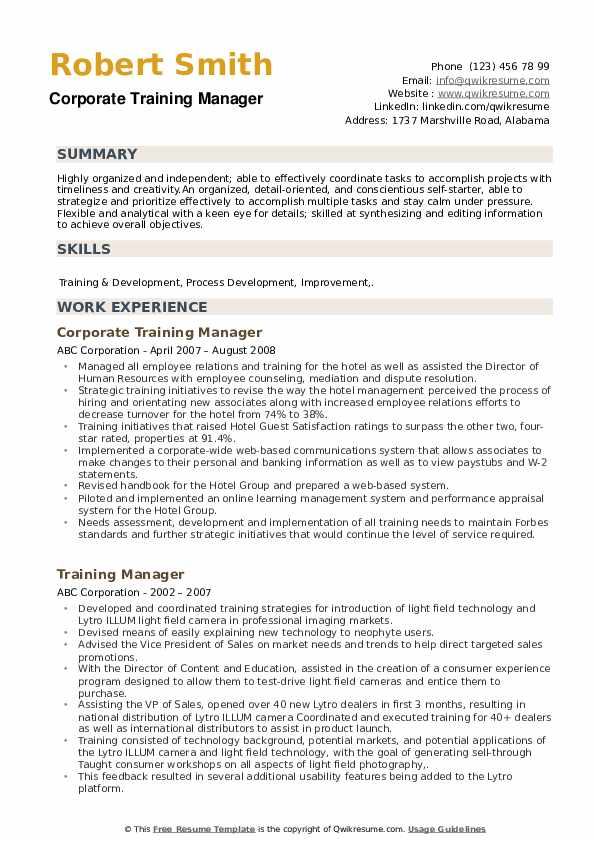 training manager resume samples qwikresume keywords pdf paper vs regular sfia example Resume Training Manager Resume Keywords