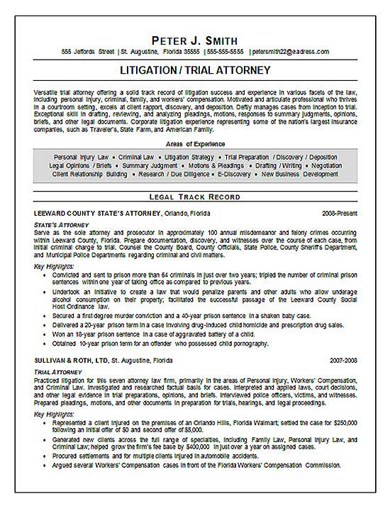 trial attorney resume example personal injury s13a legal edible arrangements neu human Resume Personal Injury Attorney Resume